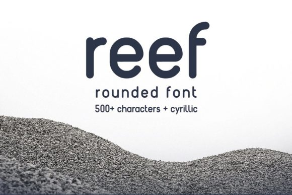Print on Demand: Reef Sans Serif Font By krisjanis