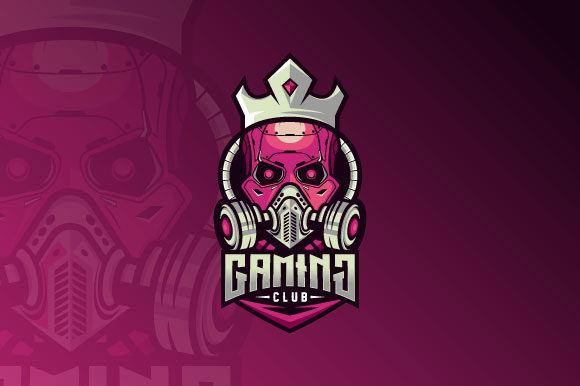 Download Free Robot Skull Esport Logo Graphic By Burhan Bn006 Creative Fabrica for Cricut Explore, Silhouette and other cutting machines.