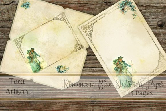 Download Free Romance In Blue Graphic By Tara Artisan Creative Fabrica for Cricut Explore, Silhouette and other cutting machines.