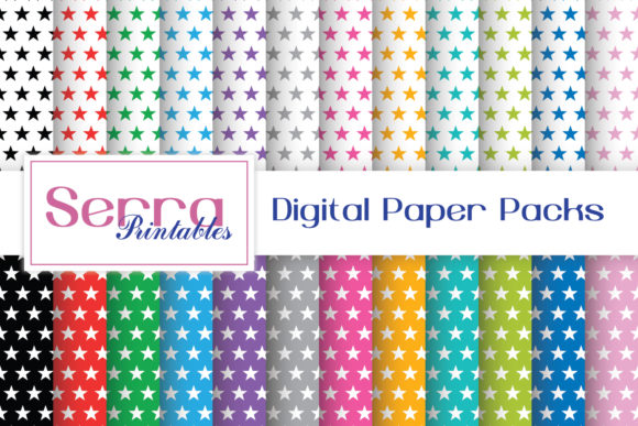 Download Free Seamless Rainbow Colors Patterns Graphic By Serradigital for Cricut Explore, Silhouette and other cutting machines.