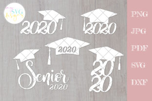 Senior 2020, Graduation  Graphic Crafts By MySVGDesigns
