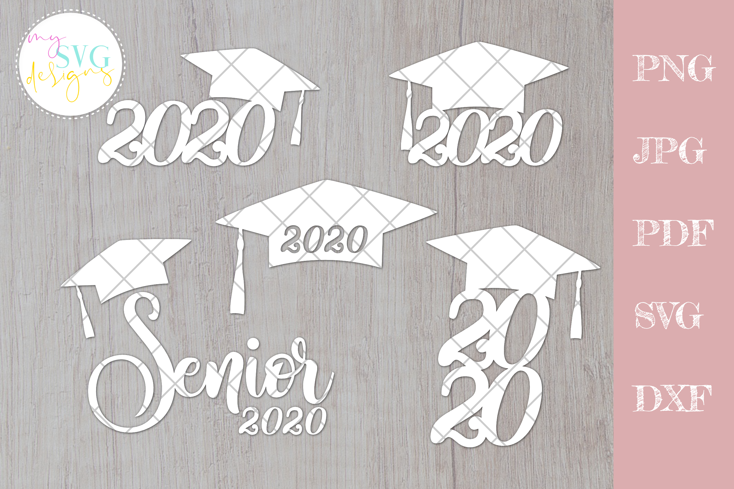 Download Free Senior 2020 Graduation Graphic By Mysvgdesigns Creative Fabrica for Cricut Explore, Silhouette and other cutting machines.