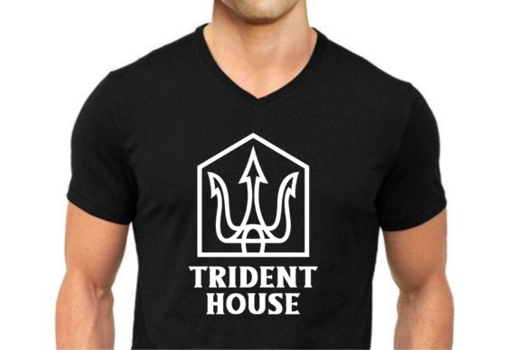 Download Free Trident House Graphic By Herulogo Creative Fabrica SVG Cut Files