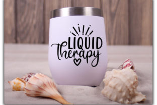 Print on Demand: Wine Tumbler Quotes Bundle Graphic Print Templates By Designdealy 5