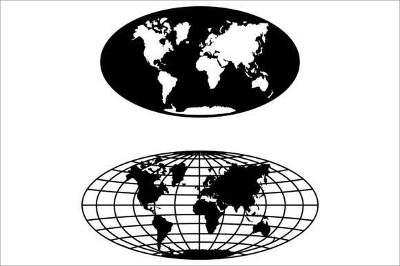 Download Free World Map Cut File Map Graphic By Bn3300877 Creative Fabrica for Cricut Explore, Silhouette and other cutting machines.