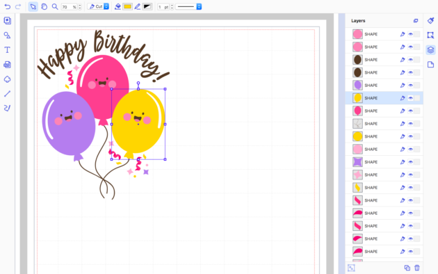 how to work with layers in canvas workspace