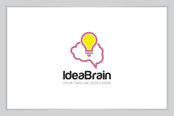 Download Free Idea Brain Logo Icon Symbol Vector Graphic By for Cricut Explore, Silhouette and other cutting machines.