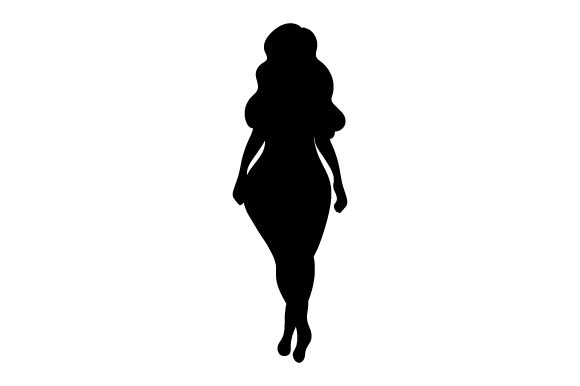 Download Free Woman Silhouette Svg Cut File By Creative Fabrica Crafts for Cricut Explore, Silhouette and other cutting machines.