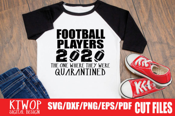 Download Free American Football Quarantine 2020 Graphic By Ktwop Creative for Cricut Explore, Silhouette and other cutting machines.