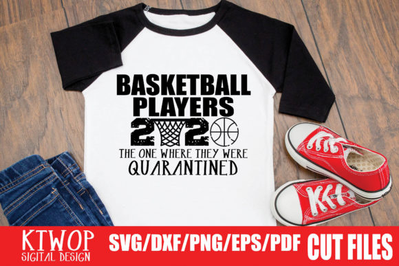 Download Free Basketball Players Quarantine 2020 Graphic By Ktwop Creative SVG Cut Files