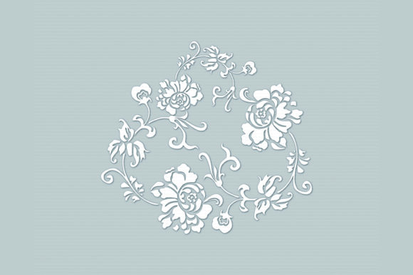 Download Free 1 Flower Paper Cut Template Svg Designs Graphics for Cricut Explore, Silhouette and other cutting machines.