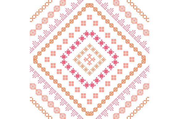 Beautiful Embroidery Design Pattern Graphic By Stockfloral