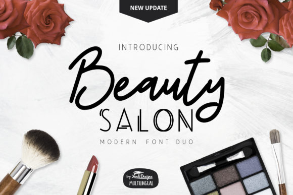Print on Demand: Beauty Salon Script & Handwritten Font By YandiDesigns