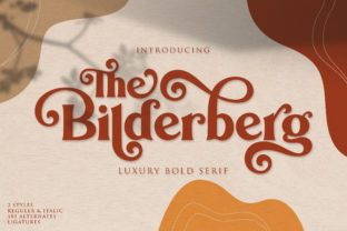 Print on Demand: Bilderberg Serif Font By Almeera Studio