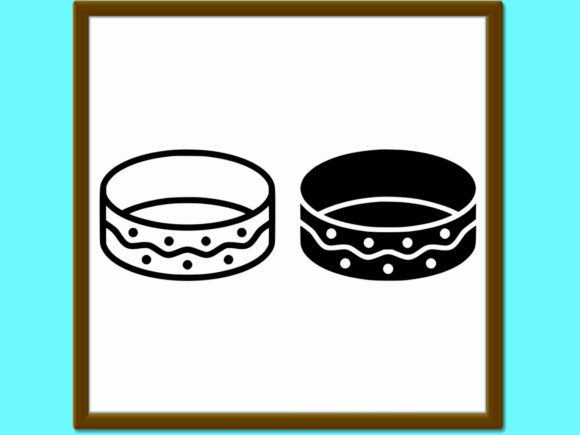 Download Free Bracelet Line And Glyph Icon Jewellery A Graphic By Anrasoft for Cricut Explore, Silhouette and other cutting machines.
