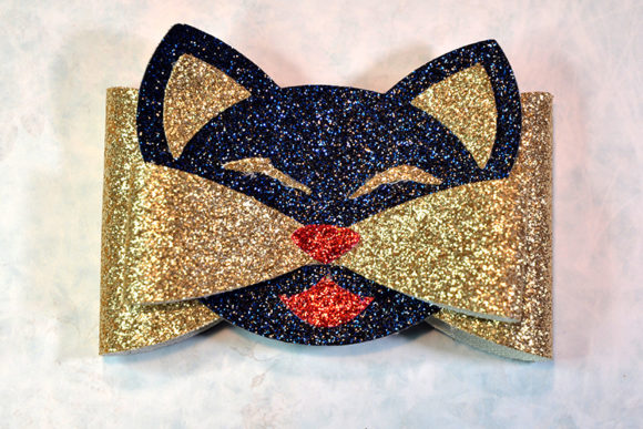Cat Bow Template Graphic By Articuties Creative Fabrica