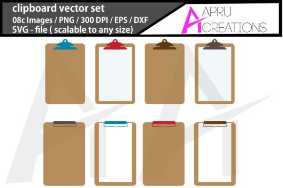 Download Free Clipboard Silhouette Graphic By Aparnastjp Creative Fabrica for Cricut Explore, Silhouette and other cutting machines.
