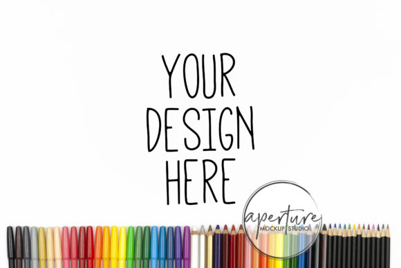Coloring Pages Mockup Photo Graphic Product Mockups By Aperture Mockup and Design