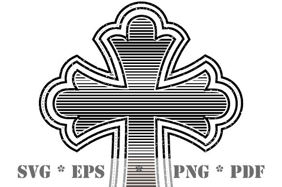 Download Free Cross Christian Symbol Easter Christmas Graphic By Graphicsfarm for Cricut Explore, Silhouette and other cutting machines.