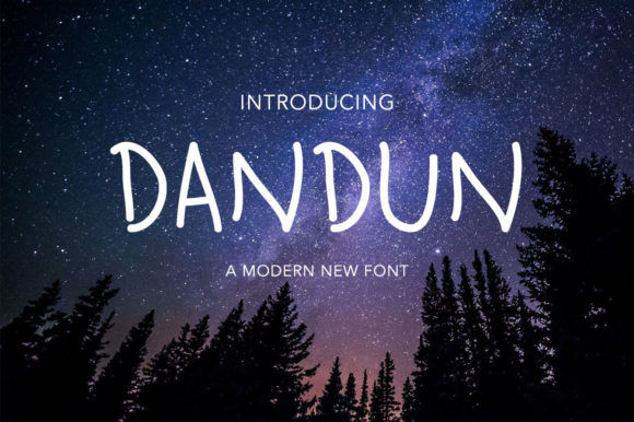 Download Free Dandun Font By Morningmondayy Creative Fabrica for Cricut Explore, Silhouette and other cutting machines.