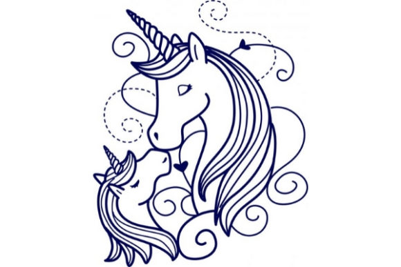 Download Free Enchanted Unicorn Creative Fabrica for Cricut Explore, Silhouette and other cutting machines.
