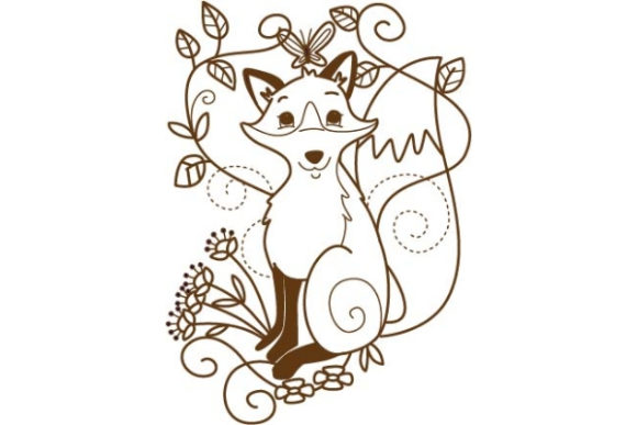 Enchanted Woodland Animals Woodland Animals Embroidery Design By Sookie Sews
