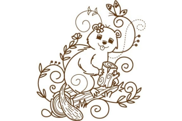 Enchanted Woodland Animals Woodland Animals Embroidery Design By Sue O'Very Designs