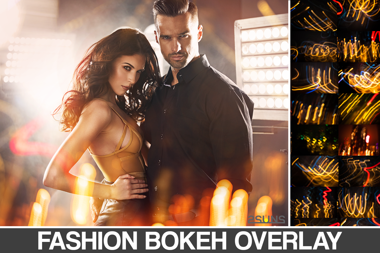Download Free Fashion Bokeh Overlays Photoshop Graphic By 2suns Creative for Cricut Explore, Silhouette and other cutting machines.