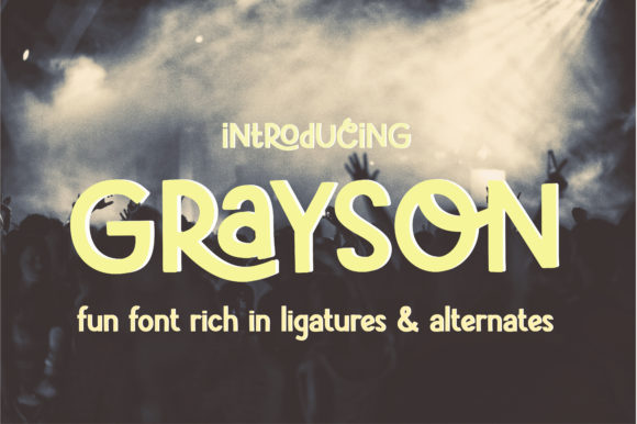 Print on Demand: Grayson Display Font By sunday nomad