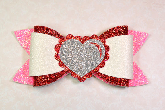 Hair Bow Template Graphic 3D SVG By ArtiCuties