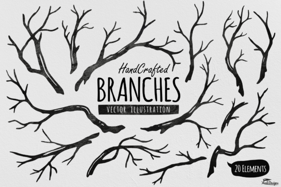 Download Free 42 Branches Designs Graphics for Cricut Explore, Silhouette and other cutting machines.
