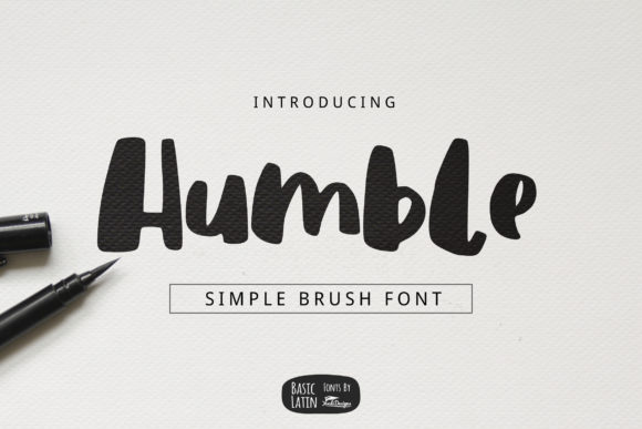 Download Free Humble Font By Yandidesigns Creative Fabrica for Cricut Explore, Silhouette and other cutting machines.