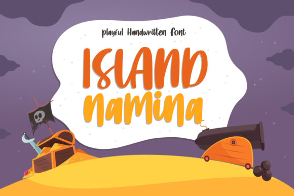 Print on Demand: Island Namina Script & Handwritten Font By Typefar