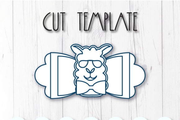 Lama Bow Template Graphic By Articuties Creative Fabrica