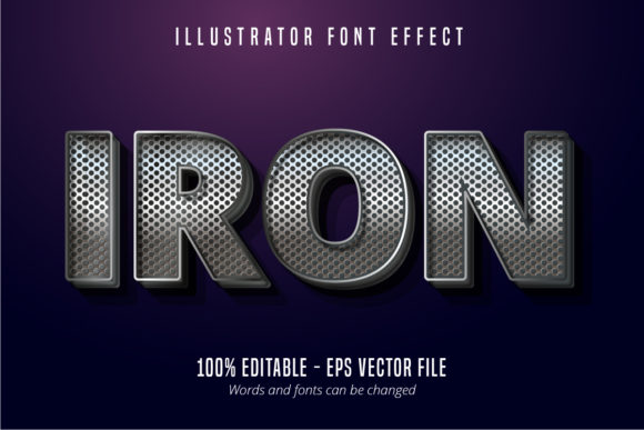 Download Free Metallic Shiny Silver Text Effect Graphic By Mustafa Beksen for Cricut Explore, Silhouette and other cutting machines.