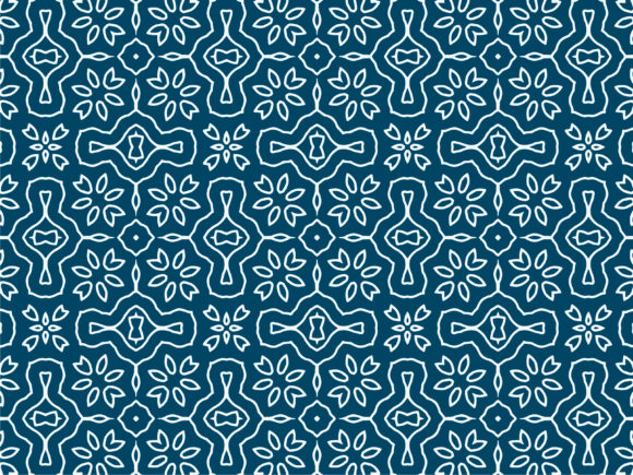 Pattern Background With Blue Texture Graphic By El Dorado17