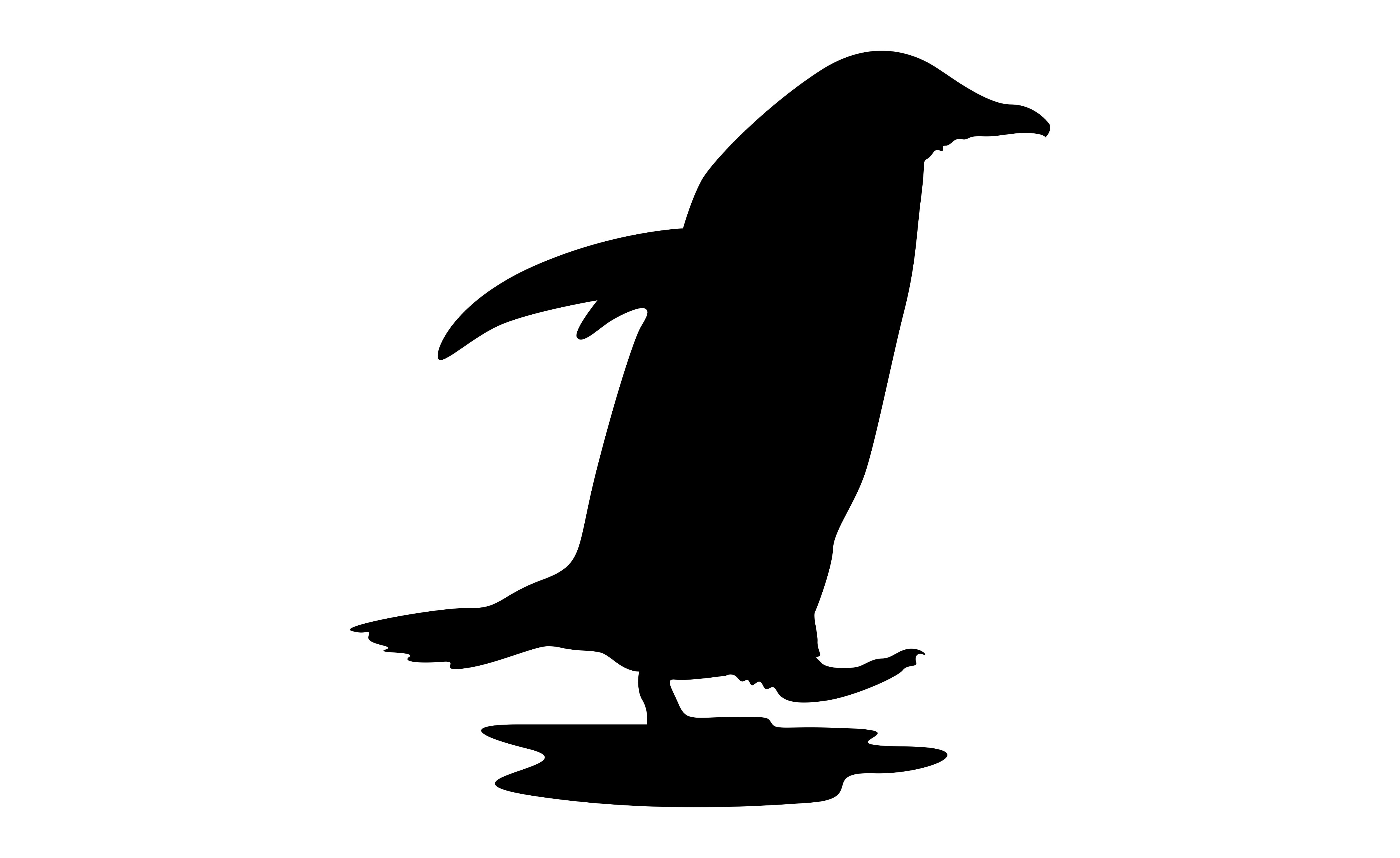 Download Free Penguin With Silhouette Style Graphic By Arief Sapta Adjie for Cricut Explore, Silhouette and other cutting machines.