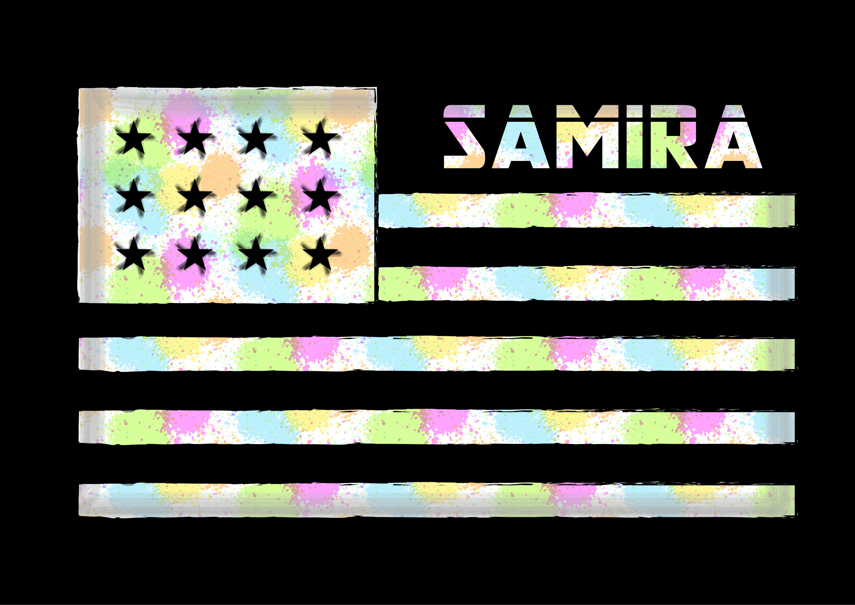Download Free Samira Graphic By Shirtgraphic Creative Fabrica for Cricut Explore, Silhouette and other cutting machines.