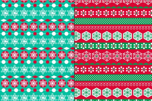 Download Free Seamless Winter Patterns Gift Tags Graphic By Melissa Held for Cricut Explore, Silhouette and other cutting machines.
