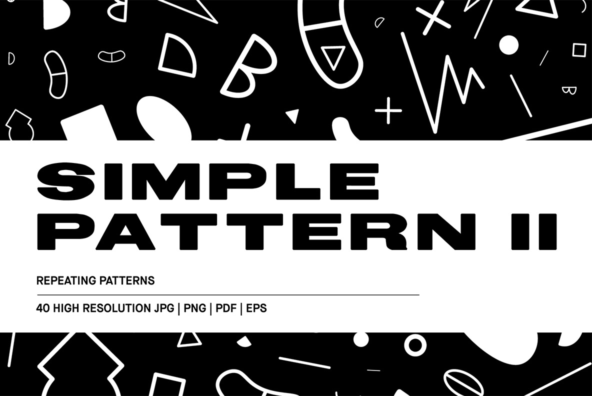 Download Free Simple Patterns Ii Graphic By Huebert World Creative Fabrica for Cricut Explore, Silhouette and other cutting machines.