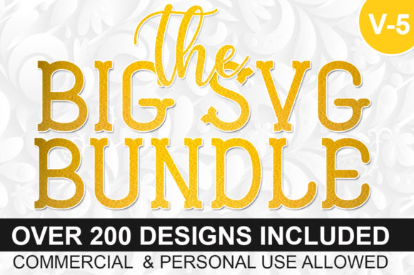 Download Free The Big Bundle Graphic By Designdealy Com Creative Fabrica for Cricut Explore, Silhouette and other cutting machines.