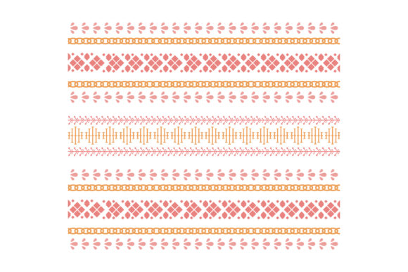 The Beautiful Embroidery Art Style Graphic Backgrounds By stockfloral