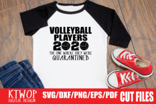 Volleyball Quarantine 2020 Graphic By Ktwop Creative Fabrica