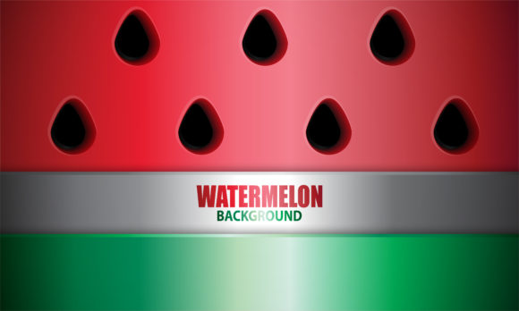 Print on Demand: Watermelon Background Graphic Backgrounds By be young