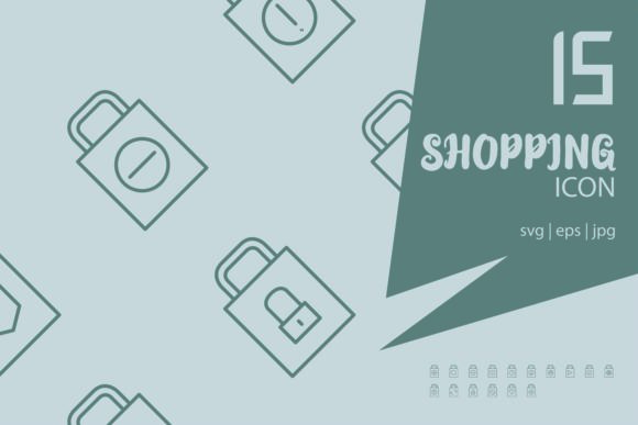 Download Free Shopping Graphic By Astuti Julia93 Gmail Com Creative Fabrica for Cricut Explore, Silhouette and other cutting machines.
