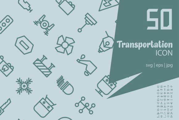 Transportation Graphic Icons By astuti.julia93@gmail.com