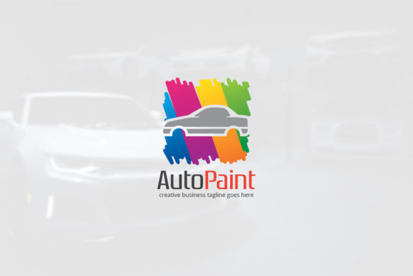 Download Free Auto Paint Logo Graphic By Slim Studio Creative Fabrica for Cricut Explore, Silhouette and other cutting machines.