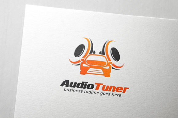 Car Audio Tuner Logo Graphic Logos By Slim Studio