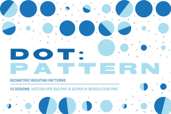 Download Free Dot Repeating Patterns Graphic By Huebert World Creative Fabrica for Cricut Explore, Silhouette and other cutting machines.