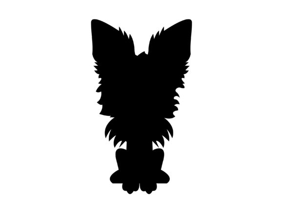 Download Free Dog Flat Design Vector Icon Silhouette Graphic By 1riaspengantin for Cricut Explore, Silhouette and other cutting machines.